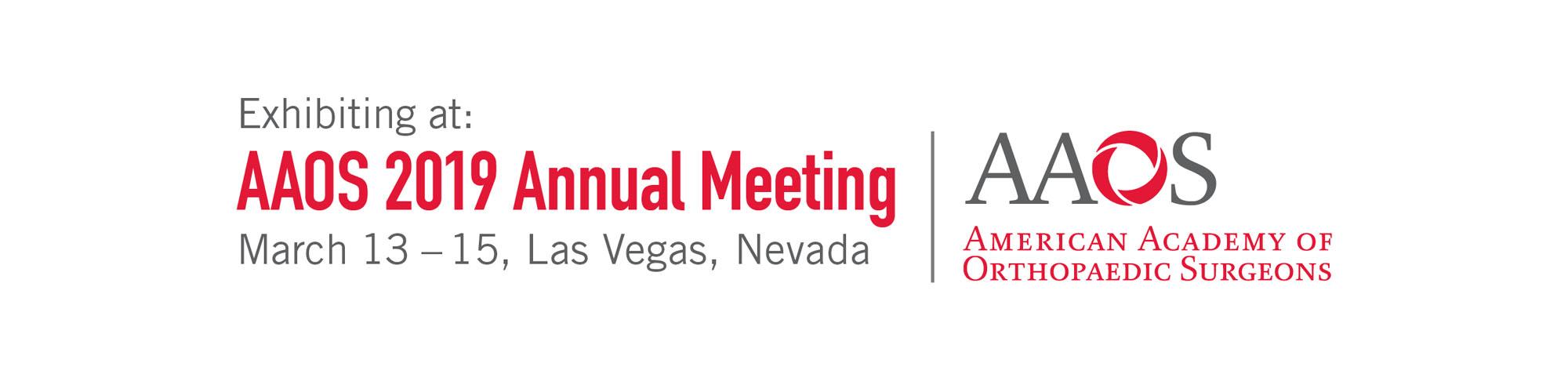 AAOS exhibiting logo