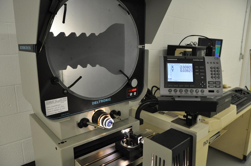 "Deltronic 16"" Optical Comparators"