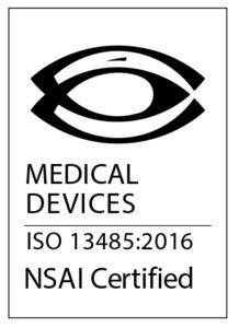 Medical Devices ISO 13485:2016 NSAI Certified logo