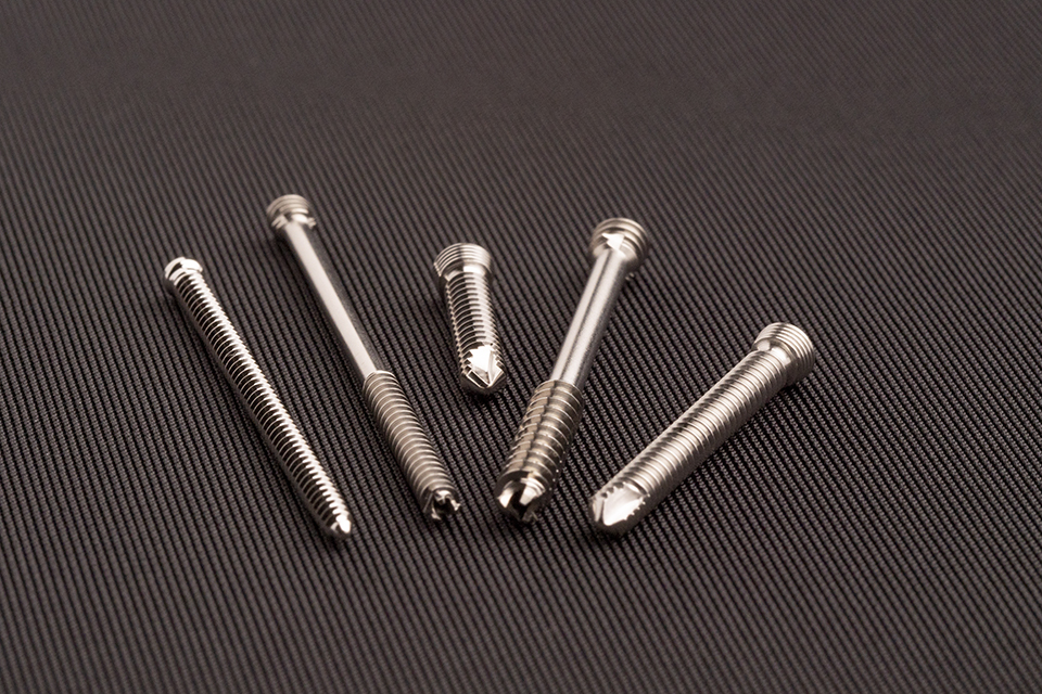 various surgical screws