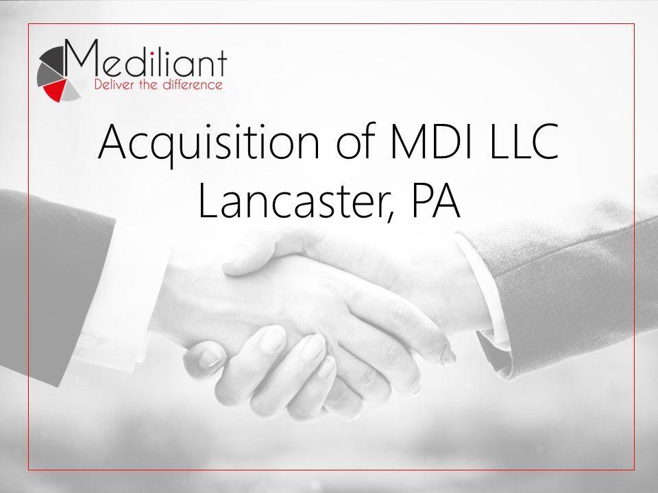 mediliant acquisition banner